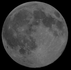 October 22, 2010 Full moon