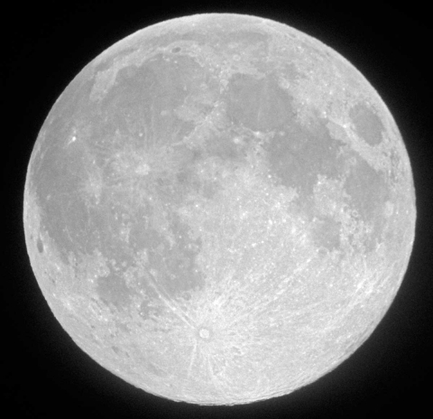 October 11, 2011 Full moon
