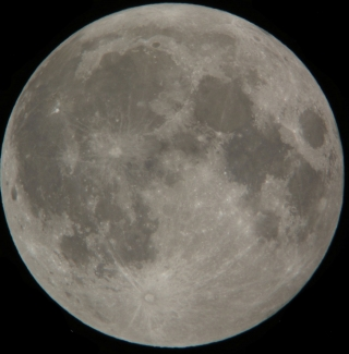 January 30, 2010, Full moon