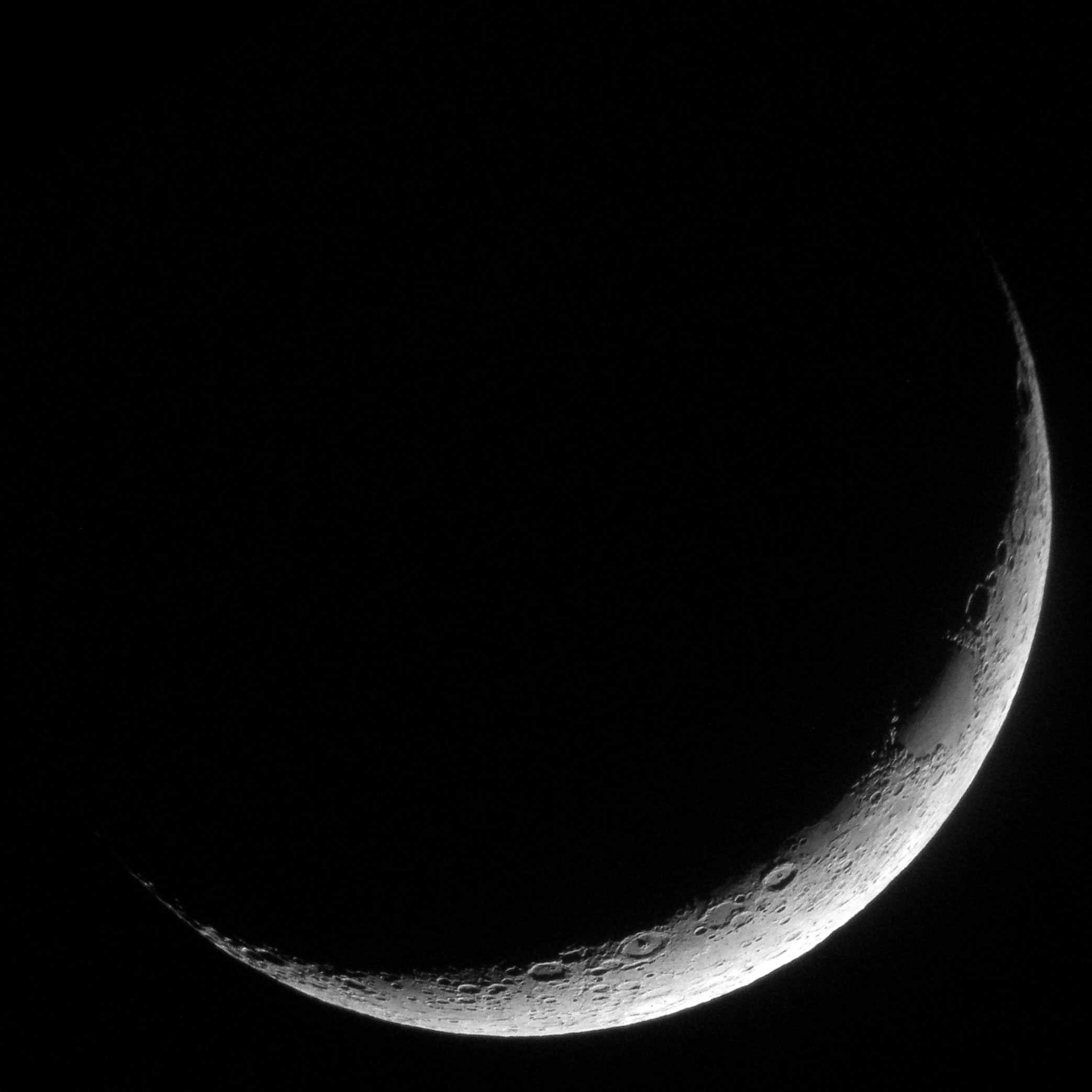 Crescent moon october 22 2017 benweb 32 crescent moon from my driveway in boca raton fl october 22 2017 put your cursor over the image or click here to view the labels of the most prominent biocorpaavc Images